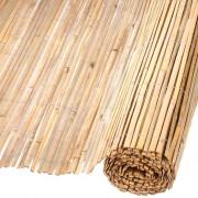 Nature Градински параван, бамбук, 1,5x5 м
