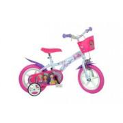 Bicicleta copii 12 inch Barbie