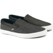 Ben Sherman Slip On Sneakers For Men(Grey)