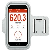 Sports Plus Jogging Activity Armband Case for Mobile Phones - White