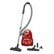 Aspirator cu sac Rowenta Compact Parquet RO3953EA, 750 W, 3 L, Sac Hygiene+, Maner EasyBrush, Perie pentru parchet, Roşu