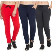 Cliths Women's Set Of 3 Track Pants for Women  Tights For Yoga Gym and Active Sports Fitness