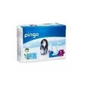 PINGO Pañales Ecológicos Pingo Talla 1 (54 Uds. / 2-5 Kg.) - Pingo