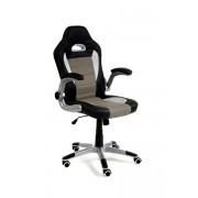 Fotel biurowy RACER SPORT czarno - szary