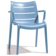 SCAB Design Set 4 Stoelen Sunset - Lichtblauw