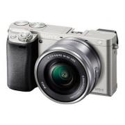 Sony a6000 ILCE-6000L - Digitale camera - spiegelloos - 24.3 MP - APS-C - 3x optische zoom 16-50mm lens - Wi-Fi, NFC