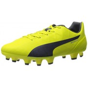 PUMA Women s Evospeed 4.4 Firm Ground WN s Soccer Cleat Sulphur Spring/Total Eclipse/Electric Blue Lemonade 6.5 B(M) US