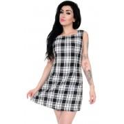 ruha női 3RDAND56th - 60s Retro - Black/White - JM1284