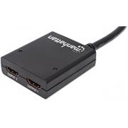 Manhattan HDMI Splitter HDMI 1.3, 2-Port,