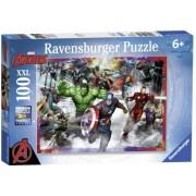 Puzzle Razbunatorii, 100 Piese Ravensburger