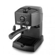 Ръчна еспресо машина Delonghi EC 151 B, 1050 W, 15 bar налягане, крема диск, капучино система, черна