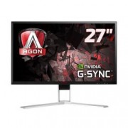 "AOC MONITOR 27"", LED IPS, 16:9, 2560X1440, 350 CD/M, 4MS, 178/178, HDMI, DP, USB, MULTIMEDIALE, AGON, NERO/ROSSO"
