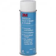 3 M Deutschland GmbH 3M Edelstahlpflege, entfernt öl- und wasserlösliche Flecken auf Metall, 600 ml - Dose