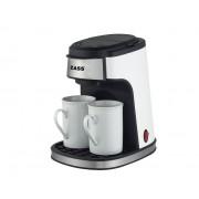 Cafetiera Zass ZCM 01 450W 0.24 litri Alb / Negru