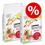 Икономична опаковка: 2 x 12 кг Beneful храна за кучета - Микс: Playful Life 7+ + Healthy Weight