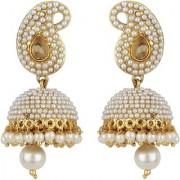 Penny Jewels Alloy Party Wear Wedding Jhumka / Jhumki Earring Set For Women Girls