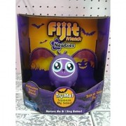 Fijit Friends Newbies Halloween BAT Figure PURPLE TRICK or TREAT TIA - LIMITED EDITION! by MATTEL