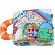 Disney Baby Mickey Mouse & Friends surprised! Let's get out! Cloth Ehon