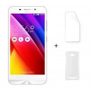 Asus Zenfone Max ZC550KL 2G 32G 5,5 Pulgadas Android 5.0 Blanco + Protector De Pantalla + Estuche