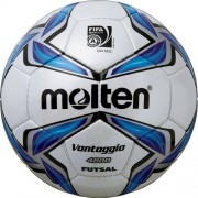 molten Fußball Futsal F9V4800 - weiß/blau/silber | Futsal