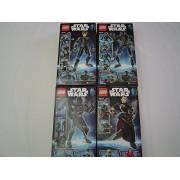 Lego Star Wars Buildable Figures Constraction Sergeant Jyn Ers - 75119 & K-2SO - 75120 & Imperial Death Trooper - 75121 & Chirrut mwe - 75524 ( 4 Set Bundle)