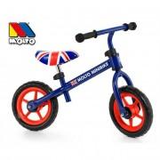 Bicicleta Molto Minibike Azul Sin Pedales Y Con Casco