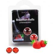 Bolas Lubrificantes Beijáveis Brazilian Balls Sabor A Moran