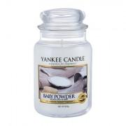 Yankee Candle Baby Powder vonná svíčka 623 g