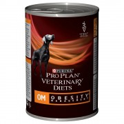 6х400г OM Obesity Management Mousse Purina Pro Plan Veterinary Diets, консервирана храна за кучета