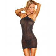 Lapdance: VIP Mini Dress, svart