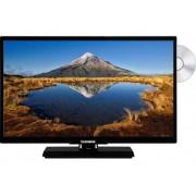 Telefunken D24H342A LED-TV 60 cm 24 inch Energielabel: A+ (A++ - E) DVB-T2, DVB-C, DVB-S, HD ready, DVD-speler Zwart
