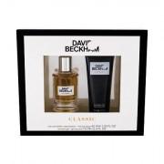 David Beckham Classic confezione regalo eau de toilette 40 ml + doccia gel 75 ml uomo