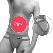 Icker Sea Hoops Jock String Jock Strap Underwear Pink COI-20-01