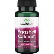 Swanson Eggshell Vápník + Vitamin D3 60 kapslí