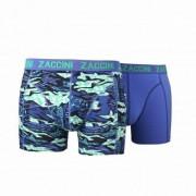 Zaccini boxershort blue green