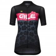 Alé Women's PRS Ibisco Jersey - L - Black/Gerbera