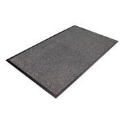 Šedá textilní čistící vnitřní vstupní rohož - 150 x 85 x 0,9 cm (80000419) FLOMAT