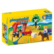 Playmobil 1.2.3, Animale la Zoo