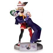 Dc Comics Bombshells Statuette The Joker & Harley Quinn 2nd Edition 25 Cm
