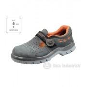 RIMECK RIGA XW Uni sandály B22B3 šedá 47