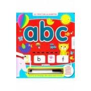 Sa invatam alfabetul ABC - Scrii si stergi