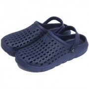 Svaar Designer Navy Blue Men's Crocs