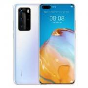 Смартфон Huawei P40 Pro, Ice White, ELS-NX9, 6.58 инча OLED (2640x1200), Kirin 990 5G, Octa-core, Li-Po 4200 mAh, Dual SIM, 6901443376933