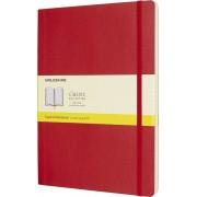 Moleskine Notes Moleskine w miękkiej oprawie XL czerwony w kratkę