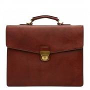 """Castelijn & Beerens Dutch Masterpiece Laptoptas 15"""" cognac"""