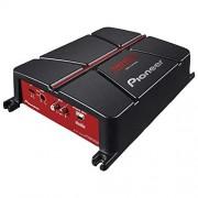 Pioneer GM-A3702 2-Channel Bridgeable Amplifier,Black/Red
