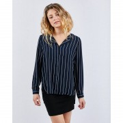 Selected Slfdynella Stripe Shirt - Dames