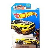 Hot Wheels, 2016 HW Mild to Wild, '13 Ford Mustang GT [Yellow] 65/250