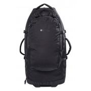 Mountain Warehouse Torba na kółkach 50l + plecak 20l - Black Uniwersalny