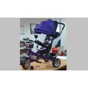 Tricikl za decu Playtime MERIDIAN (Model 406 ljubičasti)